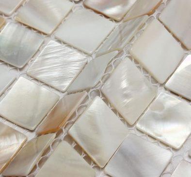 carrelage mosaïque coquille
